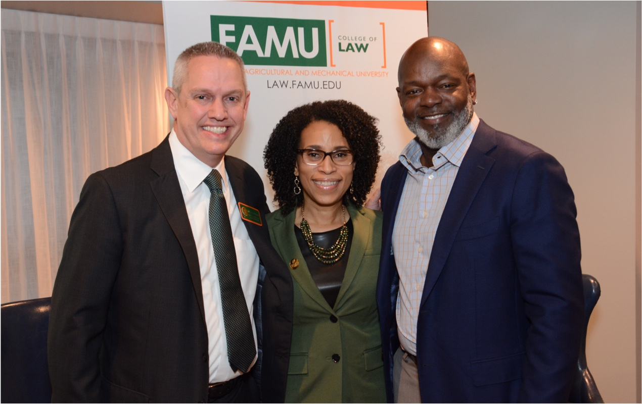 John Crossman at FAMU Law Event